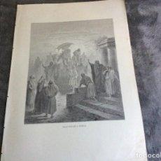 Arte: GRABADOS DE LA SAGRADA BIBLIA. D. FELIX TORRES AMAT. ILUSTR. POR GUSTAVO DORÉ, 1883 - 1884. Lote 194218136