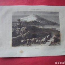 Arte: CORUÑA.-CIUDADES ESPAÑOLAS.-GRABADO.-SIGLO XIX.. Lote 194226777