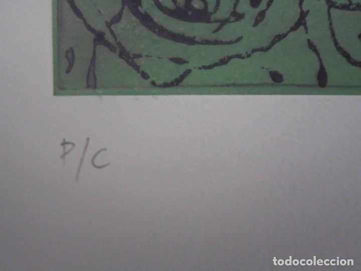 Arte: Multitud - Grabado de GAP (Guillermo Antón Pardo) - 39x49,5 cm - Aguatinta al azúcar - Foto 6 - 194227235