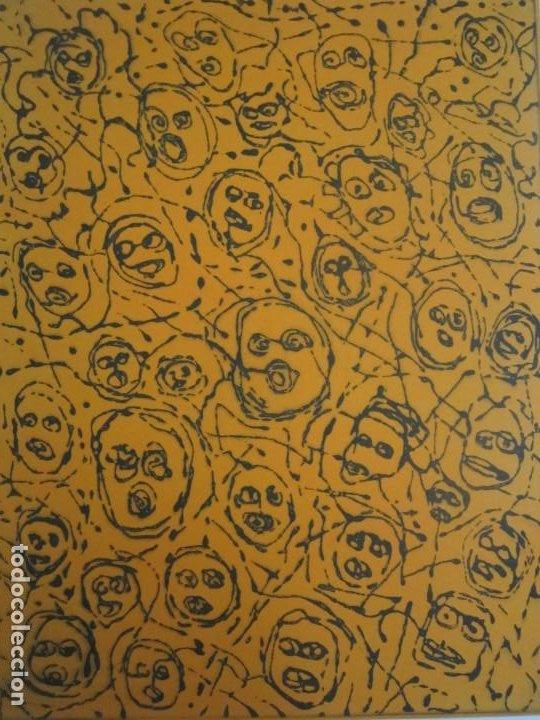 Arte: Multitud - Grabado de GAP (Guillermo Antón Pardo) - 39x49,5 cm - Aguatinta al azúcar - Foto 2 - 194227660