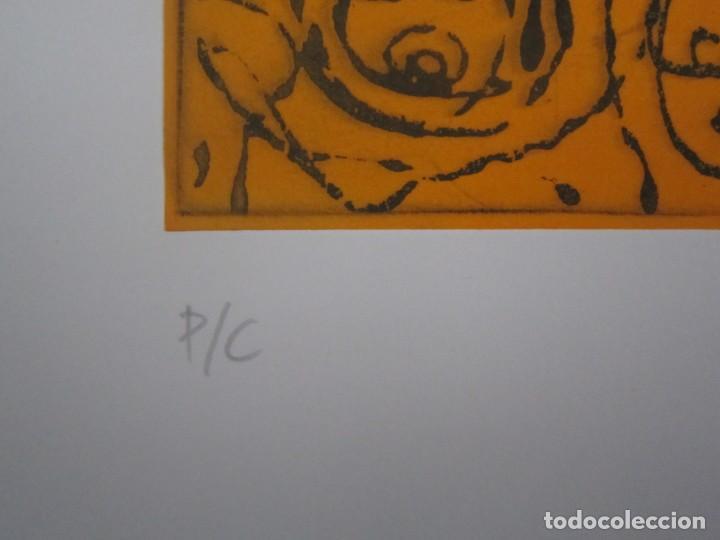 Arte: Multitud - Grabado de GAP (Guillermo Antón Pardo) - 39x49,5 cm - Aguatinta al azúcar - Foto 3 - 194227660