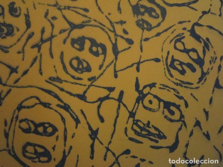 Arte: Multitud - Grabado de GAP (Guillermo Antón Pardo) - 39x49,5 cm - Aguatinta al azúcar - Foto 6 - 194227660