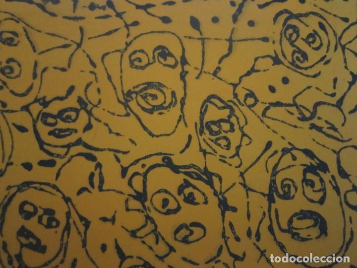 Arte: Multitud - Grabado de GAP (Guillermo Antón Pardo) - 39x49,5 cm - Aguatinta al azúcar - Foto 7 - 194227660