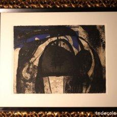 Arte: JOAN MIRO-CERTIFICADO- GRABADO CARBORUNDUM FIRMADO Y NUMERADO POR EL ARTISTA. Lote 194233385