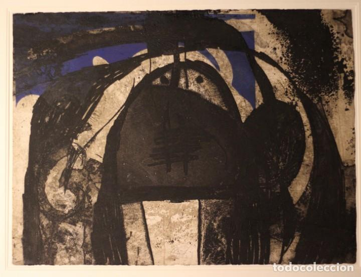 Arte: JOAN MIRO-CERTIFICADO- GRABADO CARBORUNDUM FIRMADO Y NUMERADO POR EL ARTISTA - Foto 2 - 194233385