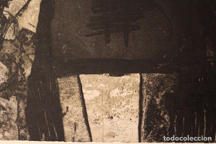 Arte: JOAN MIRO-CERTIFICADO- GRABADO CARBORUNDUM FIRMADO Y NUMERADO POR EL ARTISTA - Foto 3 - 194233385