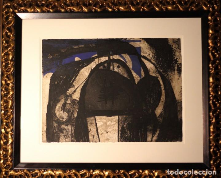 Arte: JOAN MIRO-CERTIFICADO- GRABADO CARBORUNDUM FIRMADO Y NUMERADO POR EL ARTISTA - Foto 7 - 194233385