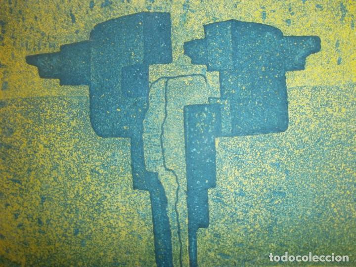 OBRA GRÁFICA JACOB ENGLER 96 - GRABADO LITOGRAFÍA 24/30 PAPEL 27X19 CM. MANCHA 14 X 11,5 CM. (Arte - Grabados - Contemporáneos siglo XX)