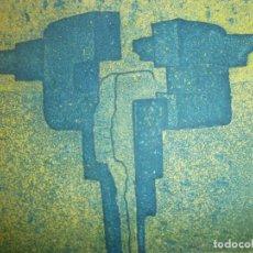 Arte: OBRA GRÁFICA JACOB ENGLER 96 - GRABADO LITOGRAFÍA 24/30 PAPEL 27X19 CM. MANCHA 14 X 11,5 CM. . Lote 194388710