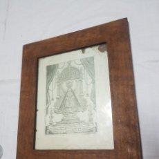 Arte: GRABADO MARÍA SSMA. DE GADOR PATRONA DE BERJA. 1862. 660 DÍAS DE INDULGENCIA. Lote 194554252