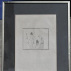 Arte: 2 GRABADOS GRIEGOS IDENTIFICADOS COMO I 46 / P60 Y I 21/I32. Lote 194561635