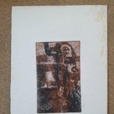 Arte: AGUAFUERTE GRABADO DE ASUNCUON GOIKOETXEA. Lote 194608468