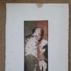 Arte: ASUNCION GOIKOETXEA AGUAFUERTE GRABADO. Lote 194608935