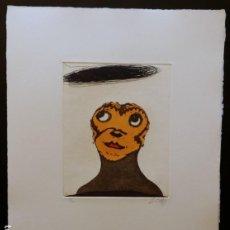 Arte: ZUSH-EVRU-ALBERTO PORTA / DOCLOUD, AGUAFUERTE. Lote 194687582