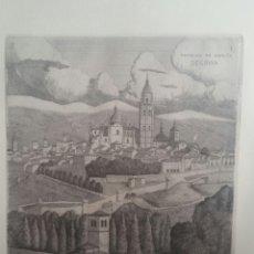Arte: LLEDIAS M. GRABADO 1959 SEGOVIA. Lote 194698802