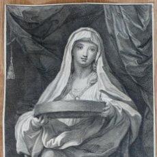 Arte: GRABADO- EPC MARATTUS PINX-TUCCIA - I FREIJ INE: ROAE 1720. Lote 194765471