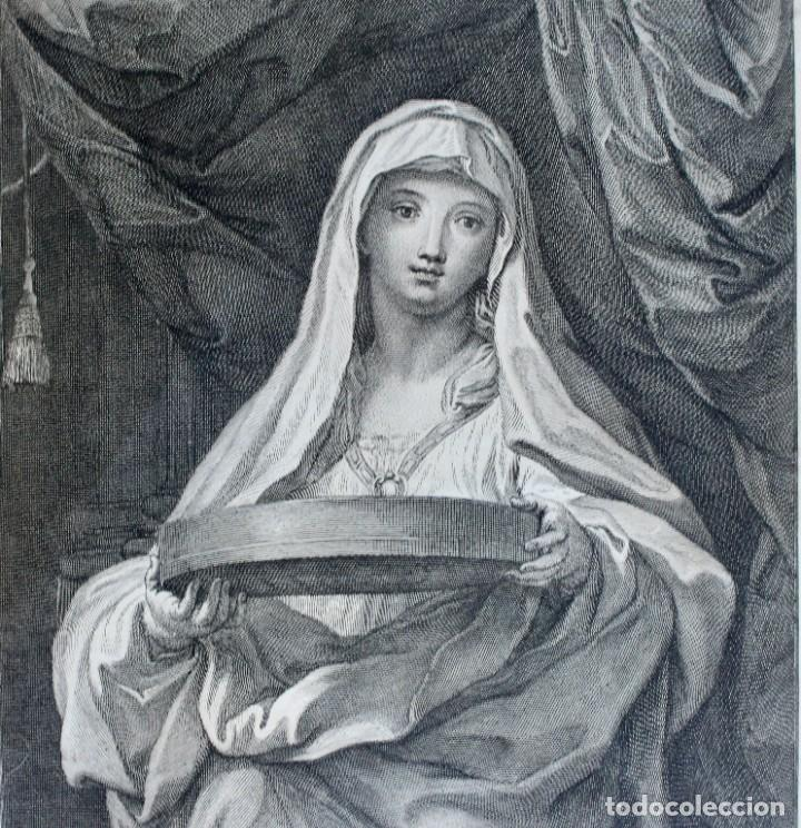 Arte: GRABADO- EPC MARATTUS PINX-TUCCIA - I FREIJ INE: ROAE 1720 - Foto 2 - 194765471