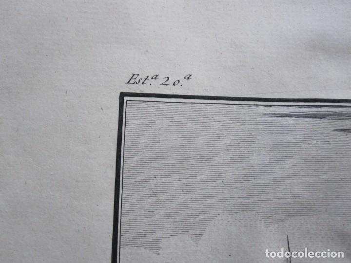Arte: ANTIGUO GRABADO DE LA MAQUINA DE ARSENAL DE CONSTANTINOPLA REALIZADO POR A. AGUADO - BARCELONA 1788 - Foto 5 - 194769325