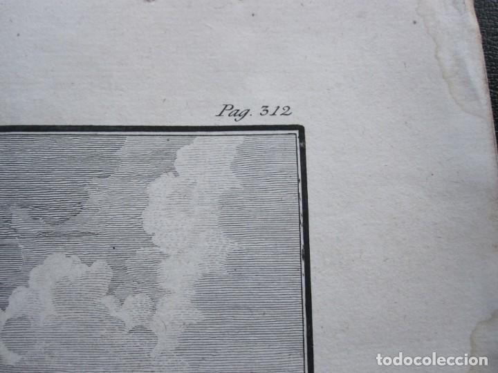 Arte: ANTIGUO GRABADO DE LA MAQUINA DE ARSENAL DE CONSTANTINOPLA REALIZADO POR A. AGUADO - BARCELONA 1788 - Foto 6 - 194769325