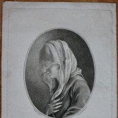 Arte: GRABADO- A VENETIAN LADY- J.BOYDELL- 1782 LONDON - G SCORODOOMOFF INV.ET SC. Lote 194784641