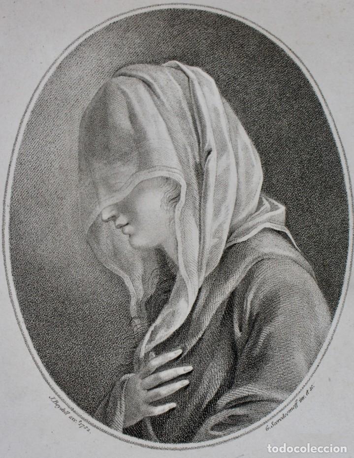 Arte: GRABADO- A VENETIAN LADY- J.BOYDELL- 1782 LONDON - G SCORODOOMOFF INV.ET SC - Foto 2 - 194784641
