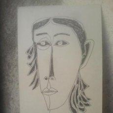 Arte: GUAYASAMÍN - 18 X 11 CMS. APROX. - AÑOS 50. Lote 194786315
