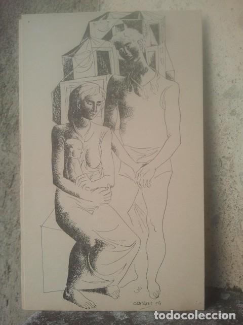 ZAMORANO - 18 X 11 CMS. APROX. - 1954 (Arte - Grabados - Contemporáneos siglo XX)