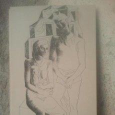 Arte: ZAMORANO - 18 X 11 CMS. APROX. - 1954. Lote 194786701