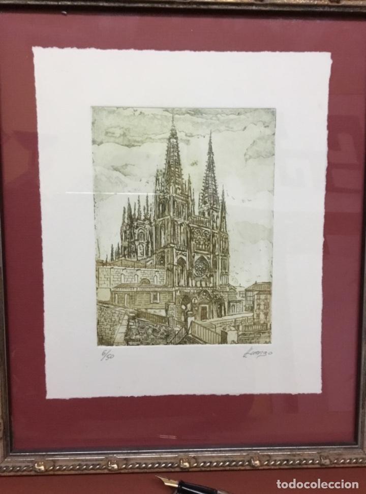 Arte: Grabado Catedral de Burgos - Foto 2 - 194859595