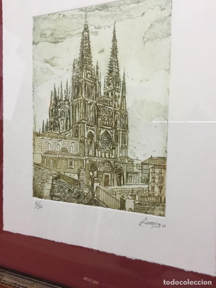 Arte: Grabado Catedral de Burgos - Foto 3 - 194859595