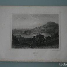 Arte: FRANCIA, ANTIGUO GRABADO CHARDON AINÉ ET FILS HAUTEFEUILLE PARIS FURNE SIGLO XIX : LYON . Lote 194880471