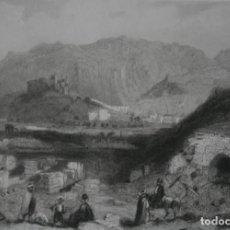 Arte: FRANCIA, ANTIGUO GRABADO CHARDON AINÉ ET FILS HAUTEFEUILLE PARIS FURNE SIGLO XIX : EFESO BUEN ESTADO. Lote 194881216