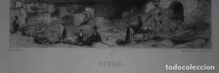 Arte: FRANCIA, ANTIGUO GRABADO CHARDON AINÉ ET FILS HAUTEFEUILLE PARIS FURNE SIGLO XIX : EFESO BUEN ESTADO - Foto 3 - 194881216