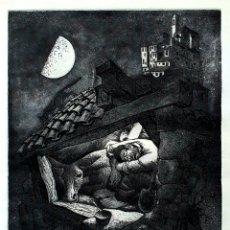 Arte: LORENZO GOÑI, MAGNIFICO GRABADO FIRMADO.. Lote 194955388