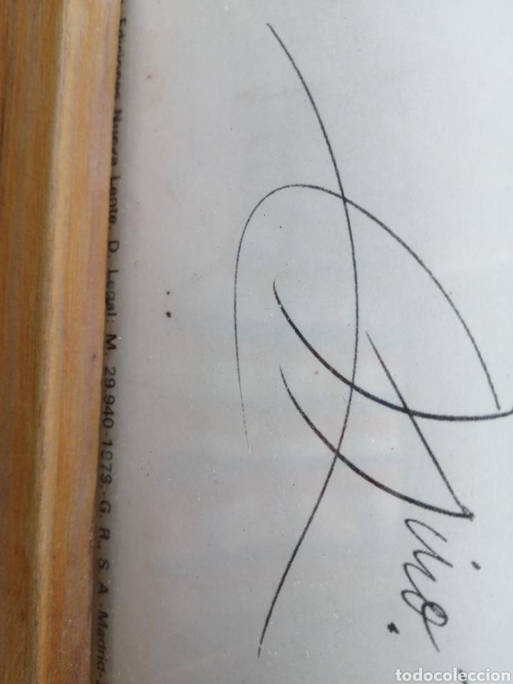 Arte: Reproducción grabado miro 50/50 nueva lente 1979 - Foto 3 - 194980832