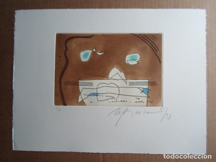 RAFOLS CASAMADA (BARCELONA, 1923-2009) GRABADO 1993 DE 19X15CMS EN PAPEL DE 38X28, FIRMADO Y 6/75 (Arte - Grabados - Contemporáneos siglo XX)