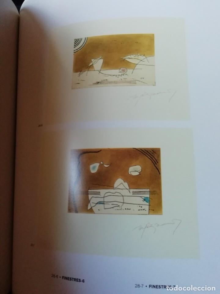 Arte: Rafols Casamada (Barcelona, 1923-2009) grabado 1993 de 19x15cms en papel de 38x28, firmado y 6/75 - Foto 5 - 194989503