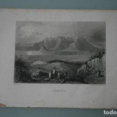 Arte: FRANCIA, ANTIGUO GRABADO CHARDON AINÉ ET FILS HAUTEFEUILLE PARIS FURNE SIGLO XIX : CORINTO. Lote 195030057
