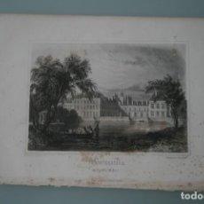 Arte: FRANCIA, ANTIGUO GRABADO CHARDON AINÉ ET FILS HAUTEFEUILLE PARIS FURNE SIGLO XIX : FONTAINEBLEAU. Lote 195030217