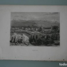 Arte: FRANCIA, ANTIGUO GRABADO CHARDON AINÉ ET FILS HAUTEFEUILLE PARIS FURNE SIGLO XIX : TARSO. Lote 195031237