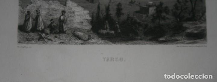 Arte: FRANCIA, ANTIGUO GRABADO CHARDON AINÉ ET FILS HAUTEFEUILLE PARIS FURNE SIGLO XIX : TARSO - Foto 2 - 195031237
