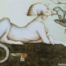 Arte: MICHAEL PARKES (MISOURI 1946) PRECIOSA LITOGRAFÍA NUMERADA Y FIRMADA.. Lote 195050350