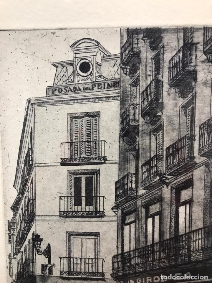 Arte: Posada del Peine (Madrid) grabado AMALIA AVIA - Foto 4 - 195063417