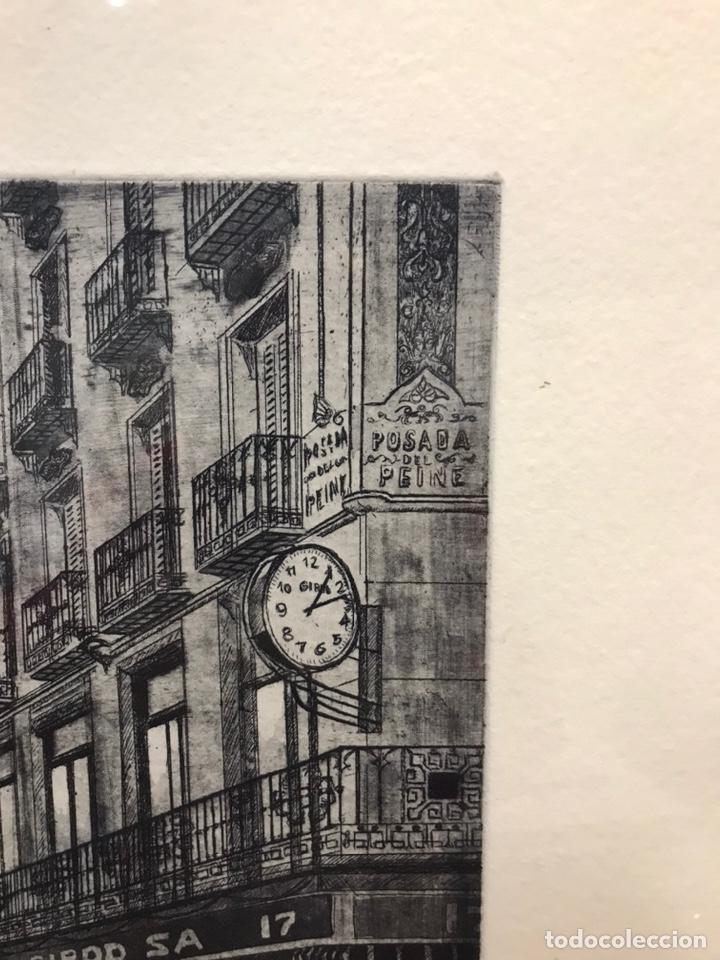 Arte: Posada del Peine (Madrid) grabado AMALIA AVIA - Foto 5 - 195063417