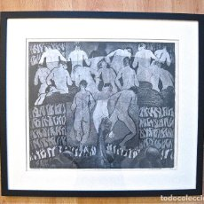 Arte: CA.1998. VICENTE PASCUAL BLANCO / HERMANDAD PICTORICA / AGUAFUERTE-RESINA - ARAGON, ZARAGOZA. Lote 195088082
