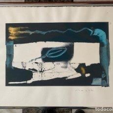 Arte: OBRA FIRMADA A IDENTIFICAR , MONOTIPO FIRMADO Y JUSTIFICADO 1/1 . Lote 195185777