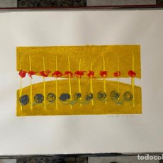 Arte: OBRA FIRMADA A IDENTIFICAR , MONOTIPO FIRMADO Y JUSTIFICADO 1/1 . Lote 195185906