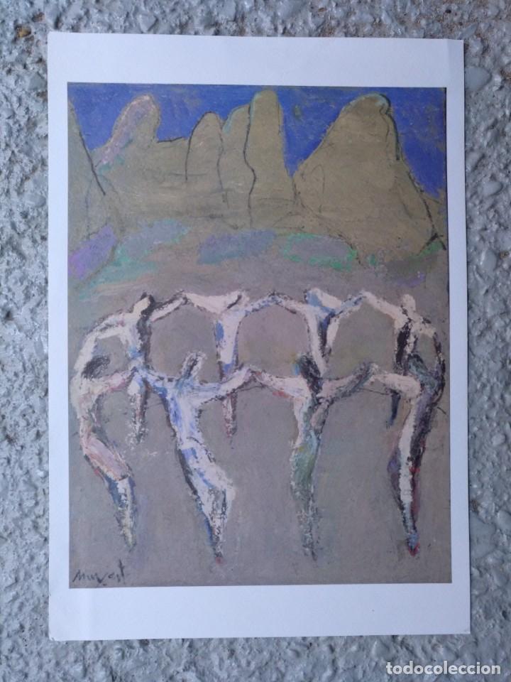SARDANES A MONTSERRAT DE JAUME MUXART EJEMPLAR Nº 1.516 (DE 2.300) AÑO 2002. 33 X 23 CM (APROX) (Arte - Grabados - Contemporáneos siglo XX)