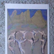 Arte: SARDANES A MONTSERRAT DE JAUME MUXART EJEMPLAR Nº 1.516 (DE 2.300) AÑO 2002. 33 X 23 CM (APROX). Lote 195192690