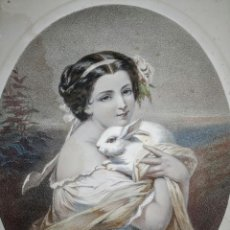 Arte: REBAJAS!!! LITOGRAFÍA, GRABADO , ANTIGUO, ART DECO, 1856 . Lote 195194008